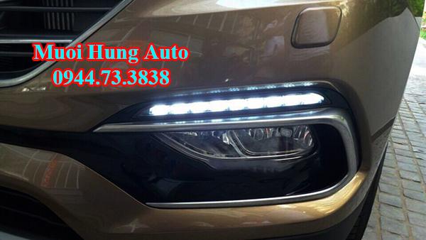 độ Led đèn cản cho xe Hyundai Santafe 2017 giá bao nhiêu