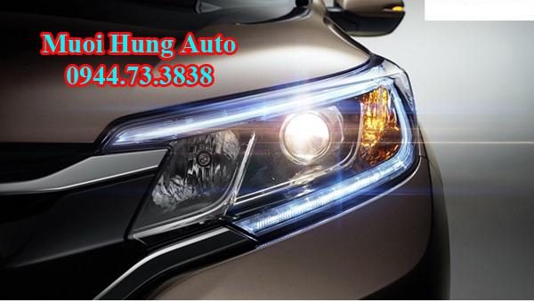 Lắp bóng đèn led cho xe Honda CRV