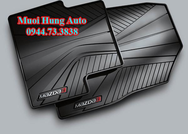 Thảm 3D cho xe Mazda 3