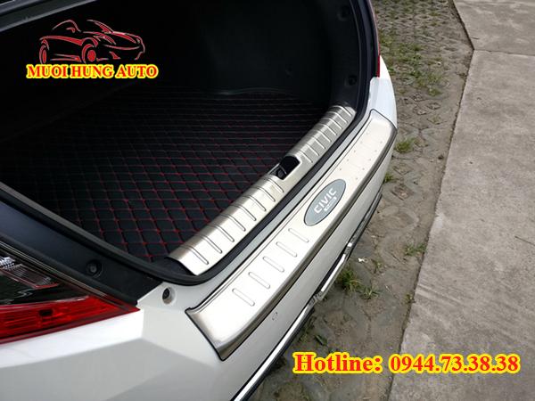 Nẹp chống trầy cốp sau cho xe Honda Civic 2017