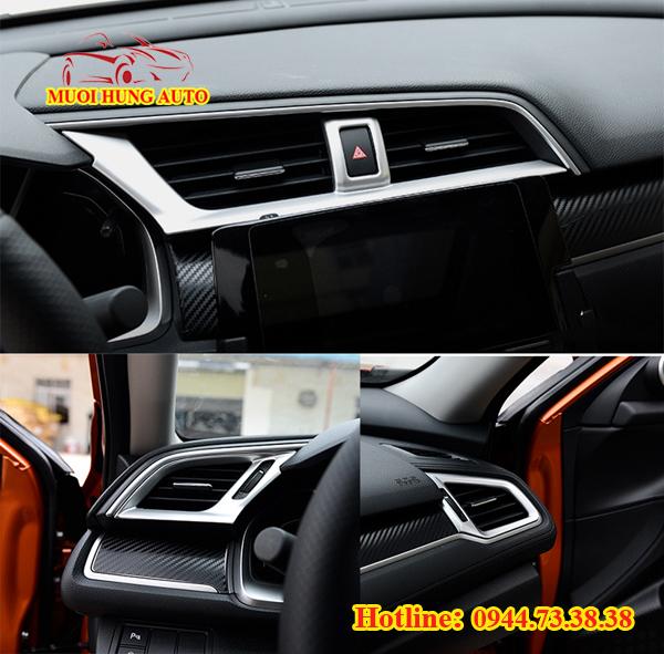 ốp trang trí nội thất Honda Civic 2017 chất lượng