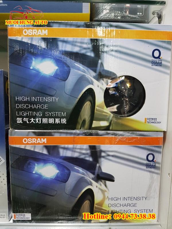 lắp bóng đèn Xenon Osram xe ô tô cao cấp