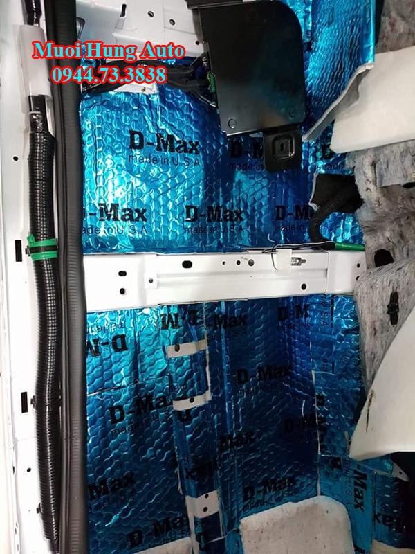 dán cách âm chống ồn Dmax xe hyundai sonata 2017 tại HCM