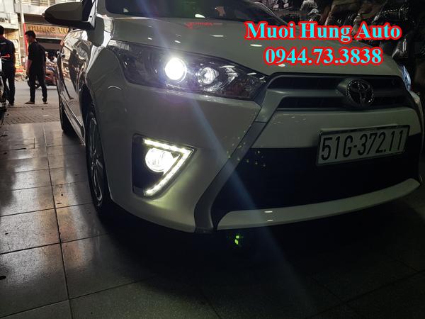 Độ đèn Xenon cho Toyota Yaris