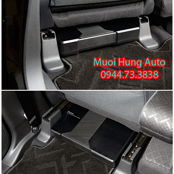 gắn loa sub gầm ghế cho xe Chevrolet Cruze tại HCM
