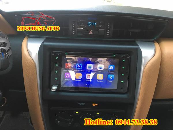 lắp màn hình DVD android Hyundai Avante