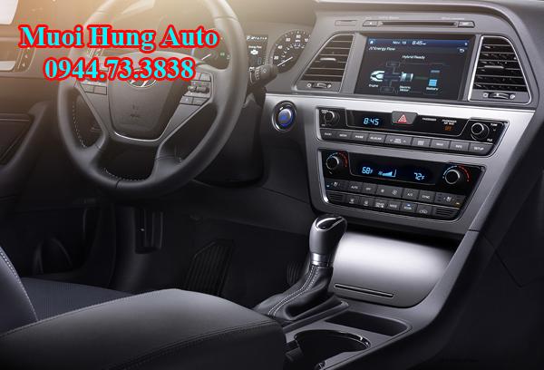 lắp đặt màn hình xe Hyundai Sonata 2017