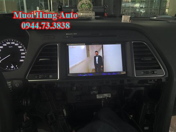 lắp màn hình xe Hyundai Sonata 2017