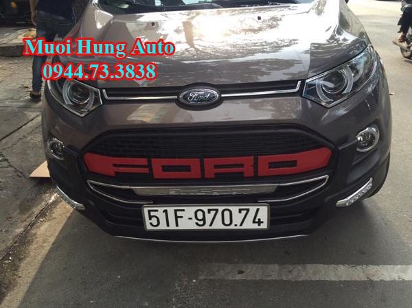 lắp đặt mặt ga lăng xe Ford Ecosport