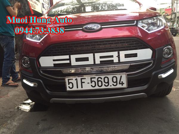 lắp mặt ga lăng xe Ford Ecosport