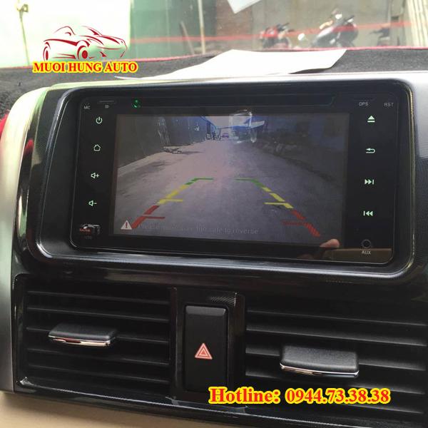 Gắn màn hình DVD Android xe Sorento cao cấp