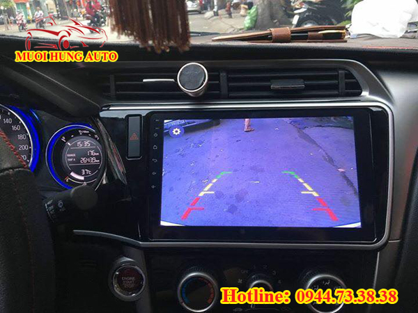 màn hình DVD Android Honda City