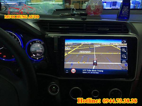 Màn hình DVD xe Honda City Android
