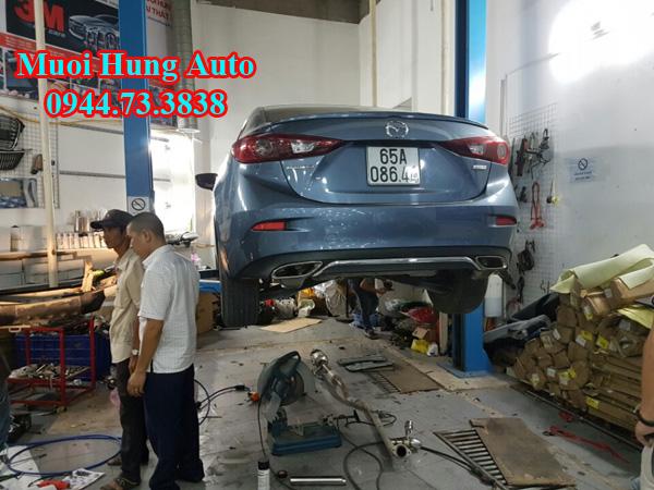 Mazda 3 Độ pô nổ On Off
