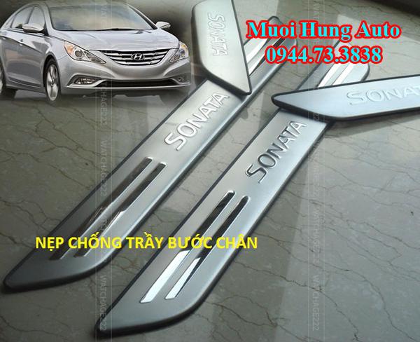 phụ kiện trang trí xe Hyundai Sonta 2017