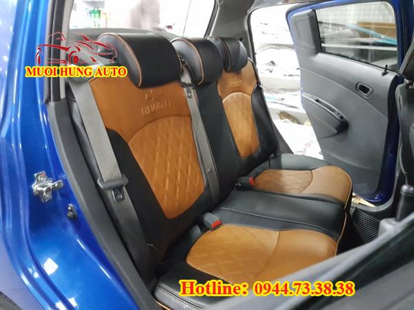 bọc áo ghế da xe Chevrolet Spark uy tín tại Sài Gòn