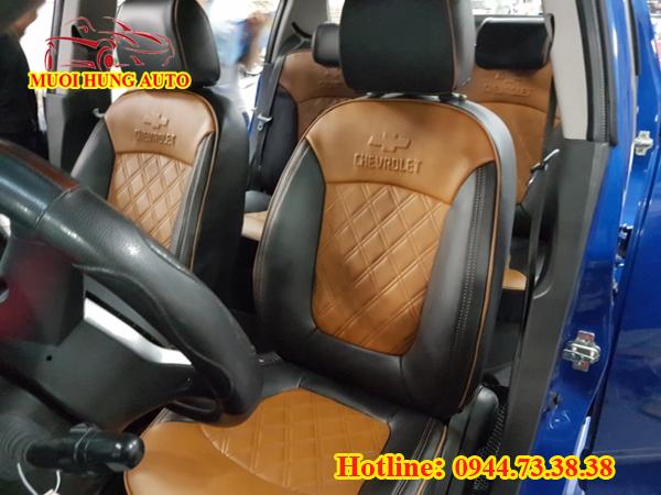 bọc áo ghế da xe ô tô Chevrolet Spark