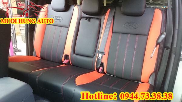 bọc ghế xe ford ranger bản 2.2 đời 2016 da công nghiệp