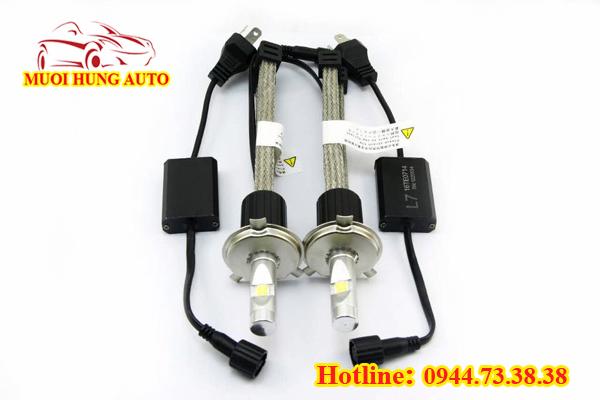 Độ bóng đèn Xenon xe Hyundai i10