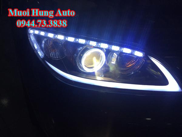 lắp bóng đèn Led và Xenon xe Mazda 3