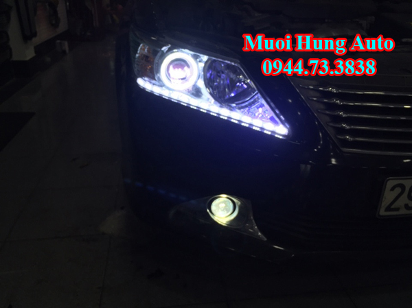 độbóng đèn xenon xe Toyota Camry