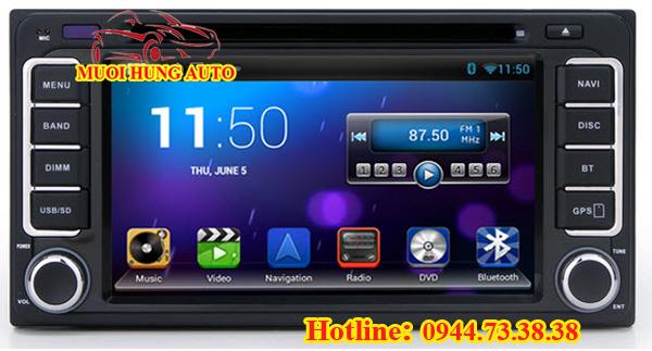 lắp đặt màn hình DVD Android Chevrolet Aveo chính hãng