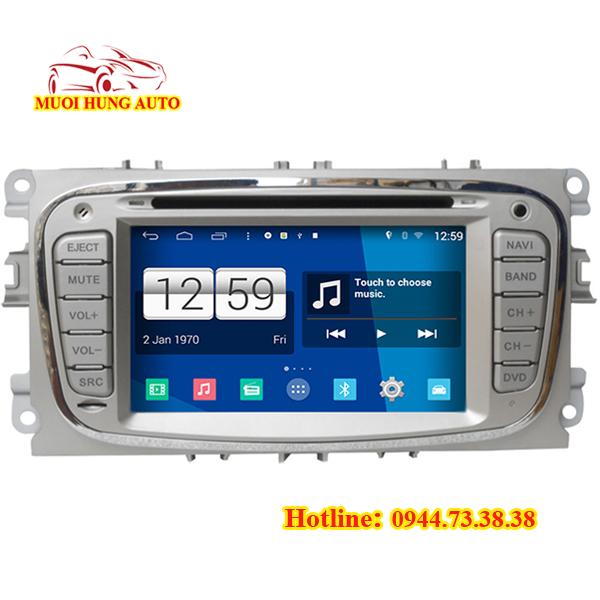 lắp đặt màn hình DVD Android Chevrolet Aveo chính hãng tại HCM