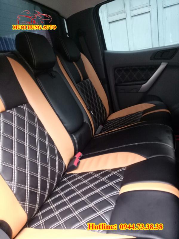 cơ sở may áo ghế da xe Ford Ranger 2018 tại HCM