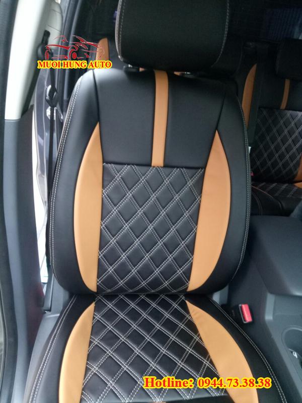 cơ sở may áo ghế da xe Ford Ranger 2018