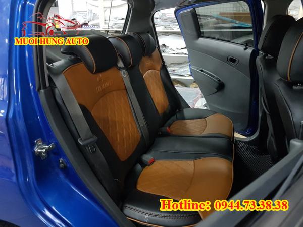 bọc áo ghế da xe Chevrolet Spark uy tín