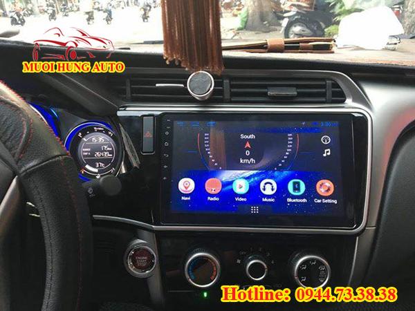 lắp màn hình DVD Android xe Hyundai Elantra đẹp chất