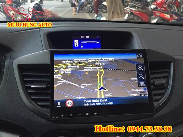 lắp đặt màn hình DVD Android cho xe Honda CRV chất lượng