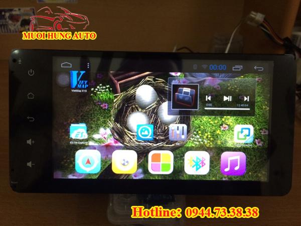 Gắn màn hình DVD Android cho xe Kia K3 chính hãng tại HCM