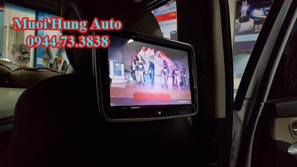 lắp màn hình gối đầu 10 inch Honda Civic chất lượng cao