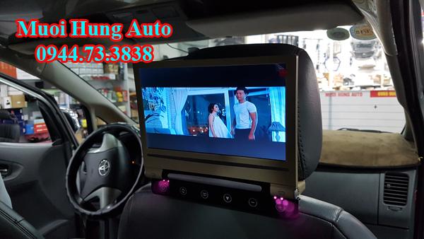 màn hình gối đầu 10 inch Nissan chất lượng cao