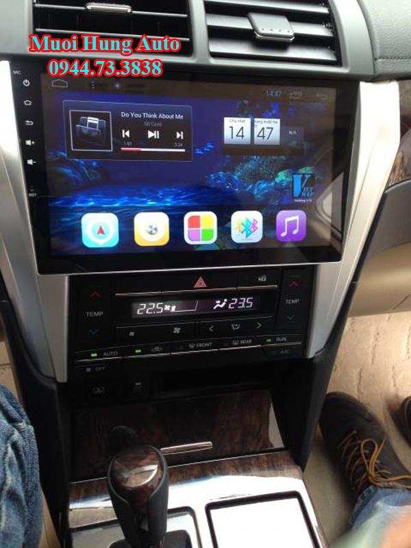 lắp màn hình DVD android cho xe Honda accord chính hãng