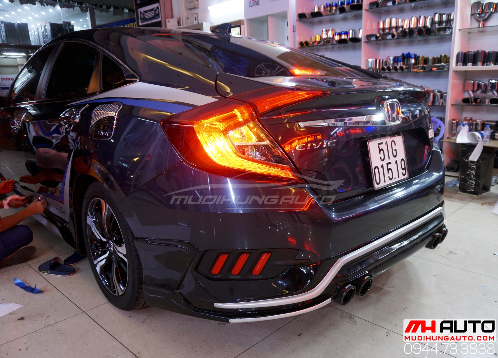 body Kit Honda Civic 13