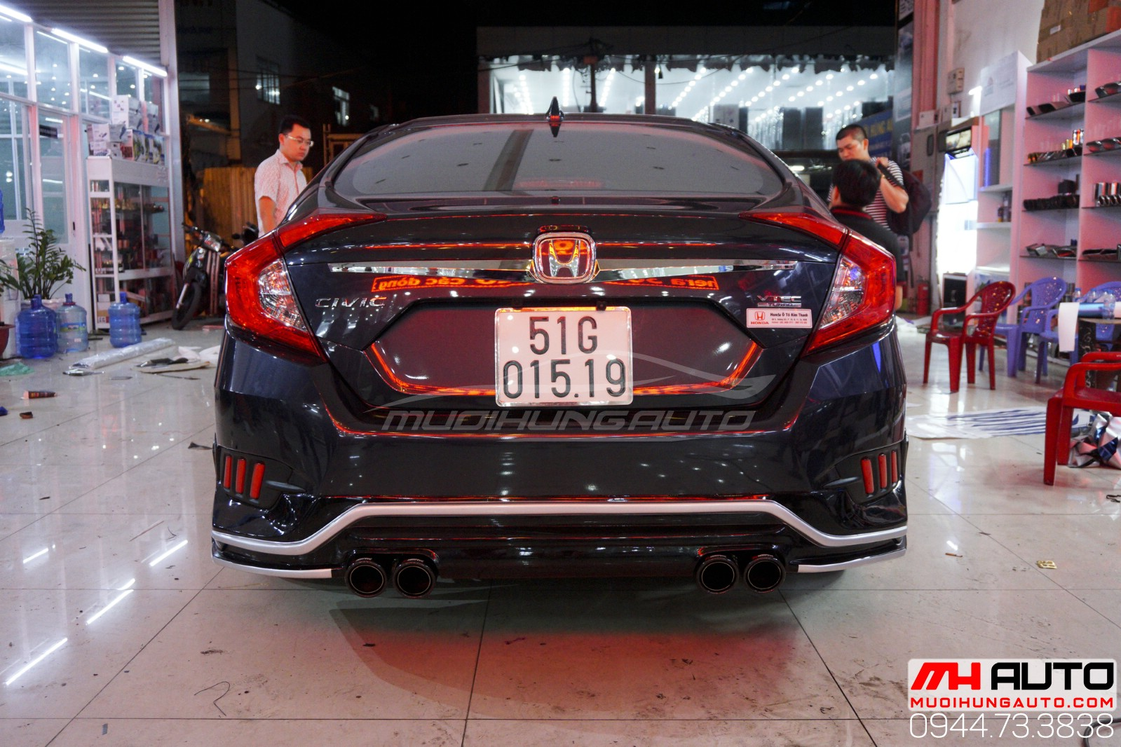 body Kit Honda Civic 16