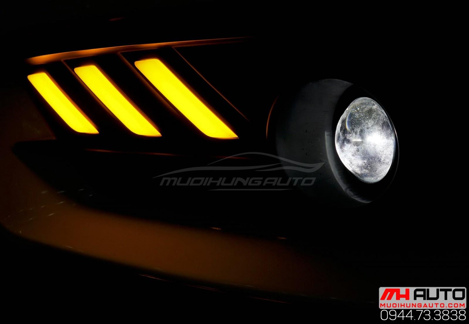 đèn bi xenon cản Civic