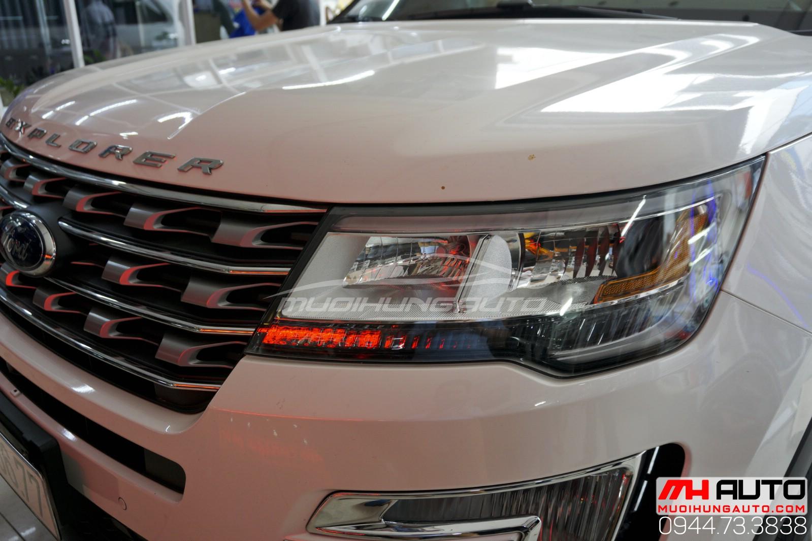 độ đèn led Ford Explorer