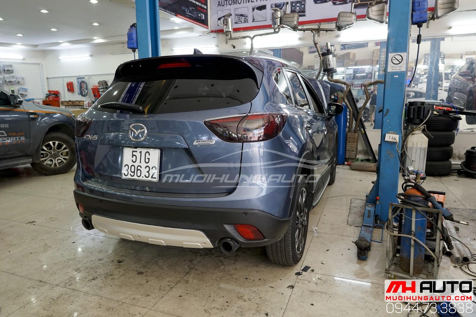 Mazda CX5 độ pô Akapovic