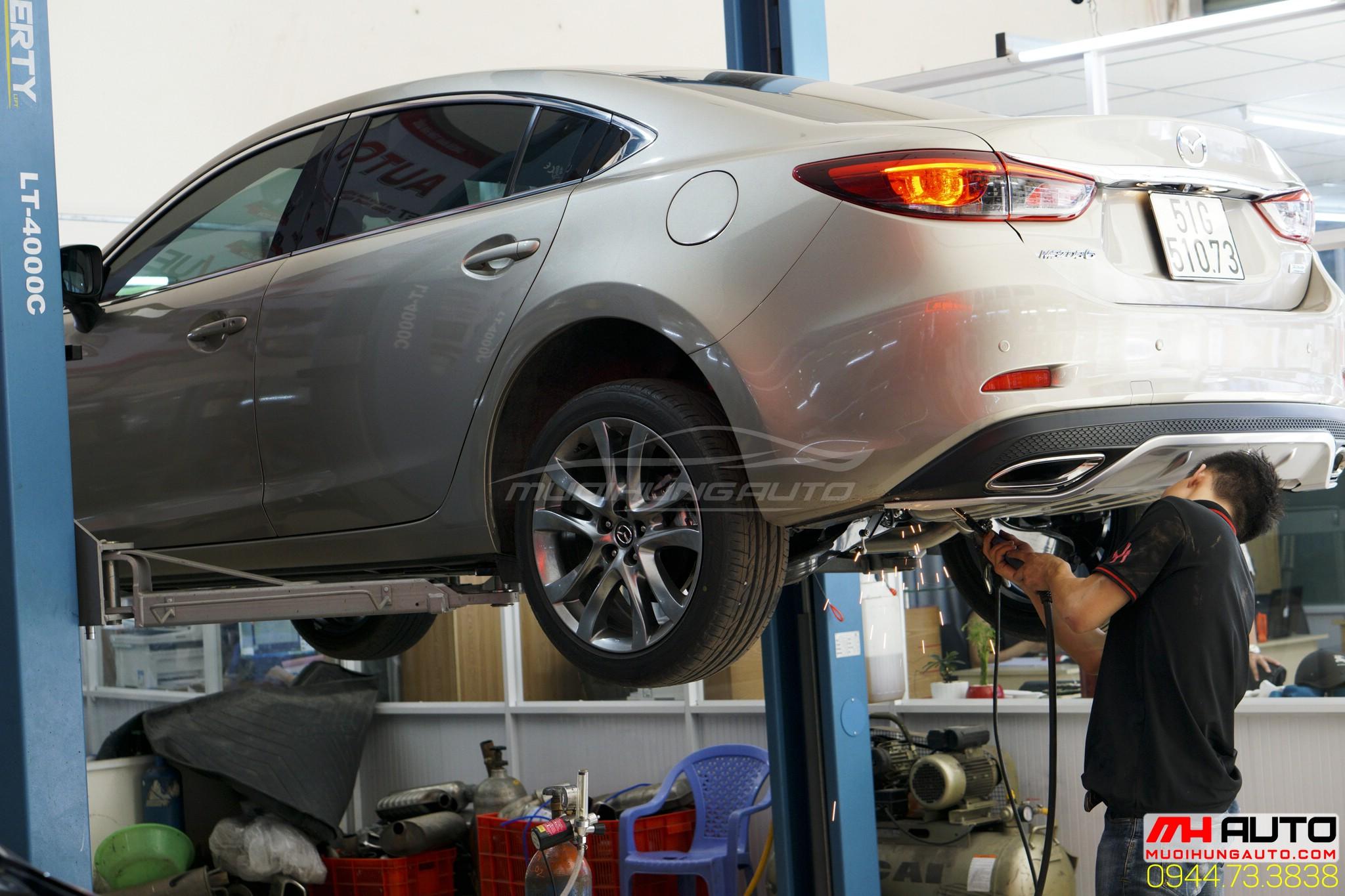 thợ độ pô Mazda 6