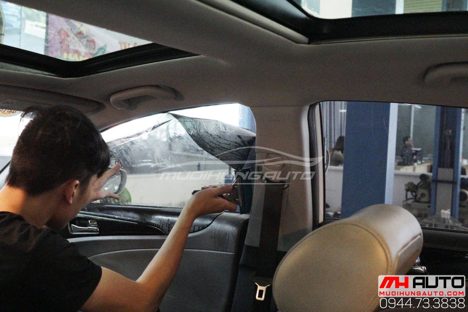 dán cách nhiệt Hyundai Sonata 11