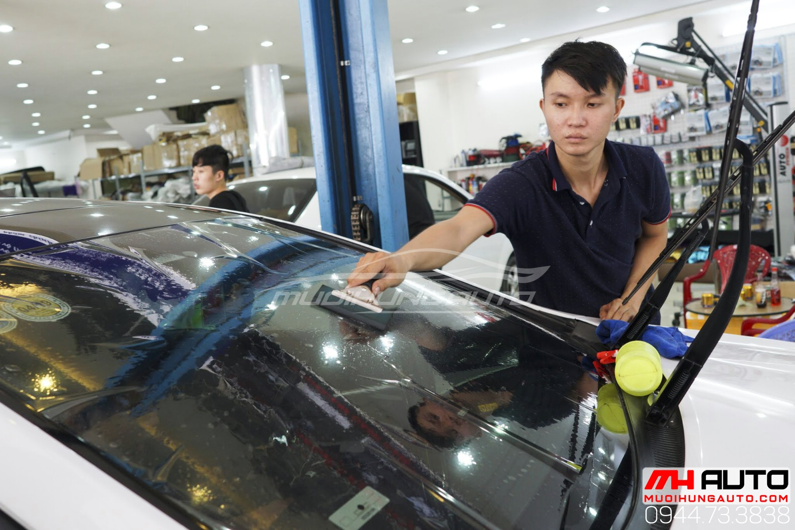 dán cách nhiệt Hyundai Sonata 7