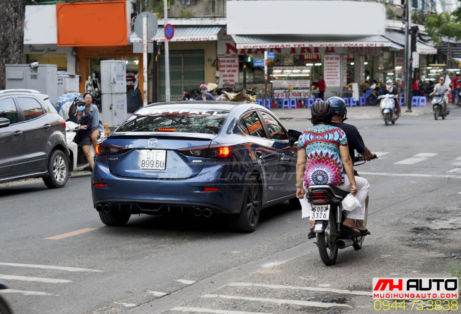 độ pô Mazda 3
