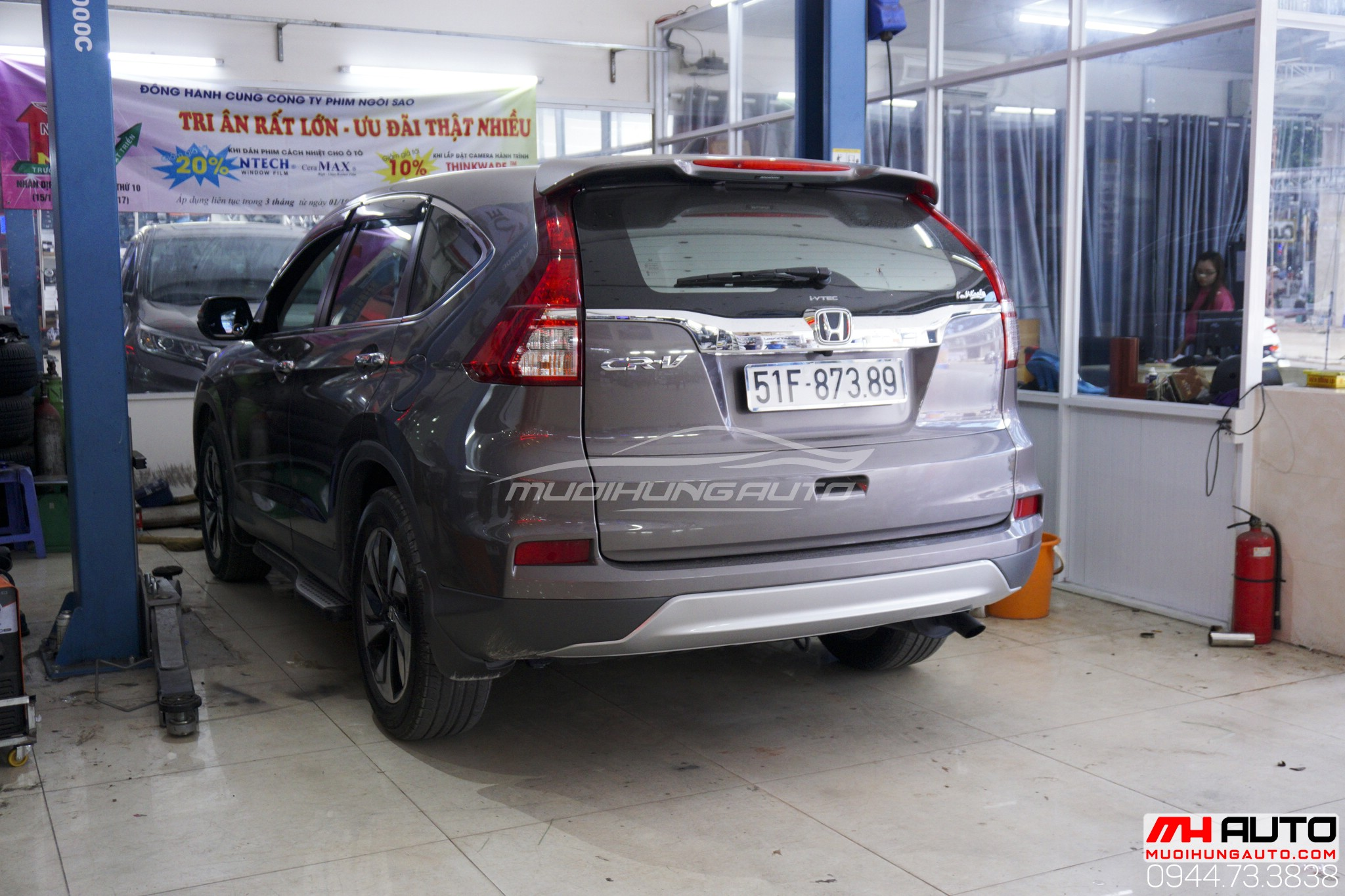 Honda CRV độ pô