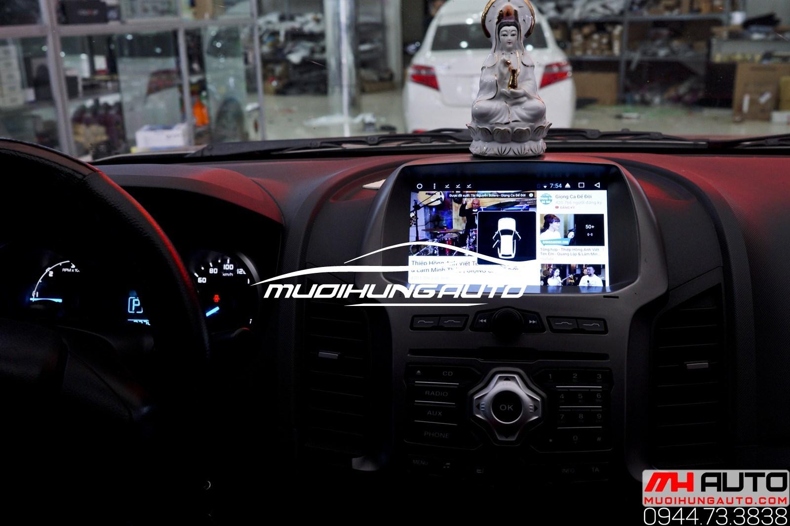 lắp đặtmàn hình DVD Ford Ranger