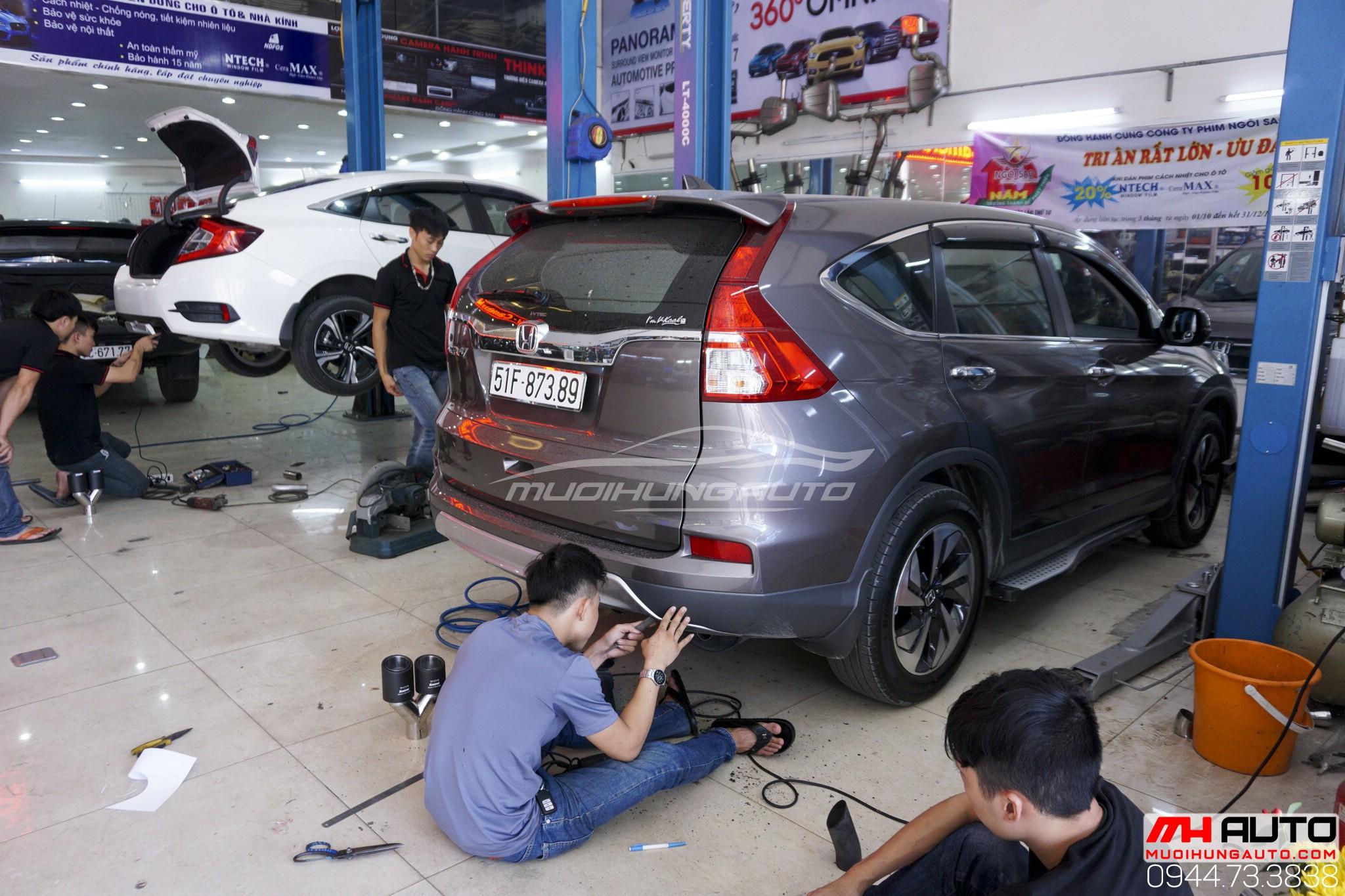 Thợ độ pô xe Honda CRV
