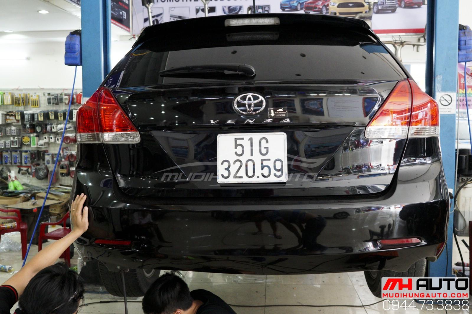 thợ độ pô Toyota Venza