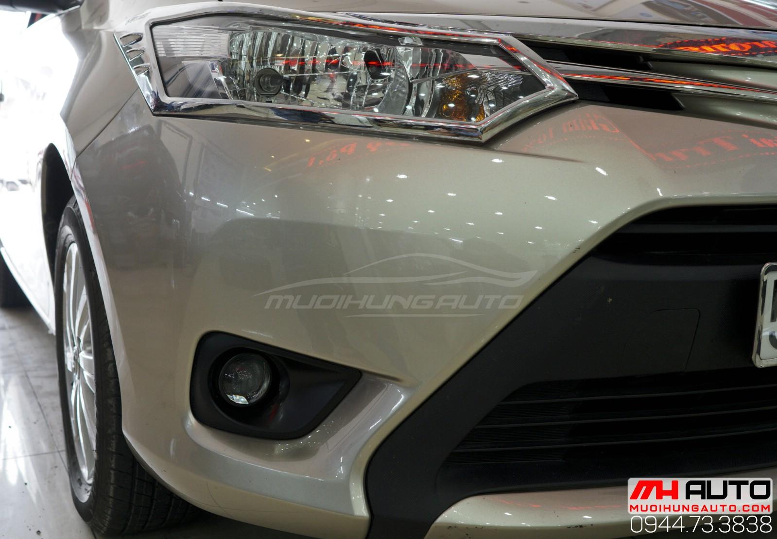 Độ bi xenon cản Toyota Vios 2018